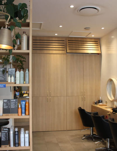 beauty products at Tribe Lifestyle salon Manly