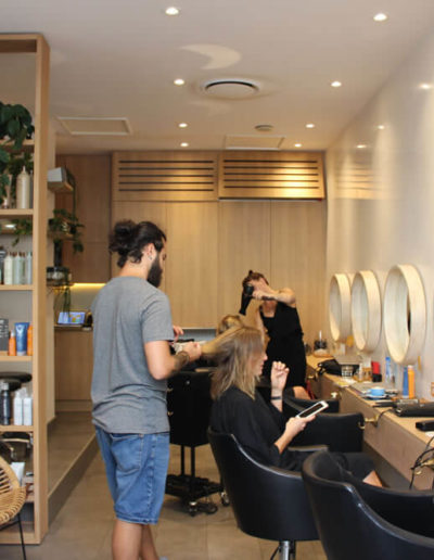 busy day at Tribe Lifestyle salon in Manly