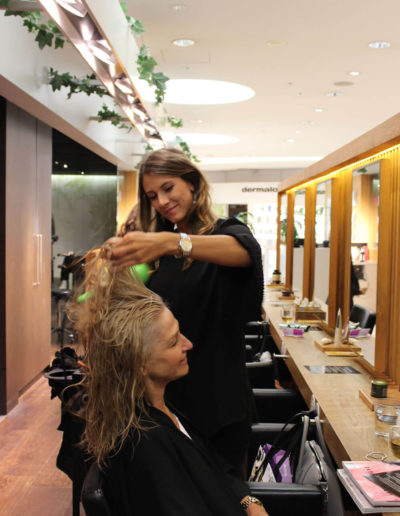 hair stylist at Tribe Lifestyle salon Sydney CBD